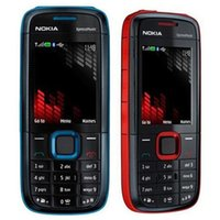 Wholesale free xm - Refurbished Original Nokia 5130 XM XpressMusic Unlocked 2G GSM Bar Phone Bluetooth FM Mobile Cheap Cell Phone Free Post 1pcs