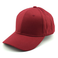 Wholesale Fund Wholesaler - Fashion Men Women Baseball Hats 100% Cotton Basic Fund Light Panel Solid Color Tide Pure Motion Hat snapback caps