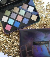 Wholesale Easy Tone - Fenty Beauty by Rihanna Earth Tone Shimmer Matte Pigment Galaxy Glitter Eyeshadow Palette Magnetic Design Metallic Shadow Palette Makeup