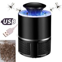 Wholesale insect repellent lights - USB Photocatalyst Mosquito killer lamp Mosquito Repellent Bug Insect Trap light UV Light Killing Trap Lamp Fly Repeller