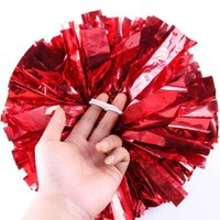 Wholesale Cheerleading PomPoms Flower Ball Lighting Up Party Sport Supplie Competition Fancy Celebrate Cheering Pompoms cm