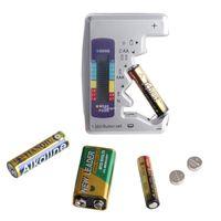 baterias de lítio aa venda por atacado-Freeshipping Universal Digital Testador de Capacidade Da Bateria Da Bateria Tester Para AA / AAA / 1.5 V 9 V Bateria de Lítio de Alimentação de Medição
