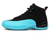 Wholesale tables games online - 2018 High Quality XII OVO White Gym Red Dark Grey Basketball Shoes Men Women Taxi Blue Suede Flu Game CNY Sneakers with box