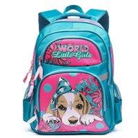 mädchen schultaschen zum verkauf groihandel-Grizzly Orthopädische Schultaschen zum Verkauf Rucksack Schultasche für Mädchen Kinder Baby Taschen Grade1-6 Qualitätssicherung Kostenloser Versand