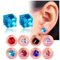 Wholesale pierced ear balls for sale - Designs Earrings Necklaces Rings Pierced Ears Earrings Disco balls for girls women Diamonds Engagement Beautiful Jewelry Crystal Ear Rings