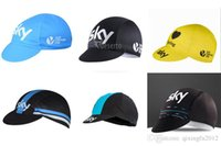 Wholesale bike hats - SKY 2018 unisex sports running Cycling Bike Head Cap Hat Breathable Quick dry Hat free shipping F3003
