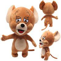 hamsterkarikatur großhandel-Cartoon Tom Jerry Maus Plüschtiere Niedlichen Hamster Tier Plüsch Puppen für Kinder Kinder Geschenke 30 cm