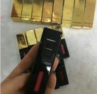 Wholesale glossy lipstick brands resale online - New Brand Makeup arrival ys glossy stain Lip glaze waterproof liquid lipstick ml