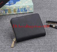 Wholesale mini square cell phone for sale - Group buy 2019 MINI new Genuine leather wallet high quality women wallets famous designer clutch wallets female small purse