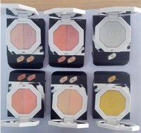 Wholesale Making Pancakes - Fenty Beauty BY Rihanna pressed killawatt freestyle 6 colors pancake makeup Bronzers Highlighters 1 set Two color make up Face Cosmetics