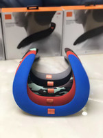 Wholesale mini hifi music speaker - SOUNDGEAR Mini Portable Bluetooth Wireless Speaker Stereo Subwoofers HiFi Mp3 Music Player Microphone Neckband Headphone Sport Loudspeakers