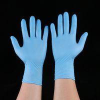 добрые перчатки оптовых-Одноразовые нитриловые латексные перчатки 5 видов спецификаций опционально Противоскользящие противокислотные перчатки Класс без поролона lin3343