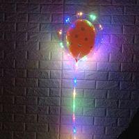 balon ballon toptan satış-Iyi Fiyatlı LED Bobo balon ışık promosyon hediye için 18 inç led halat helyum ballon
