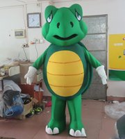 Wholesale adult sea costume - 2018 Discount factory sale the head green sea turtle mascot costume for adult to wear for sale