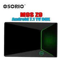 tv андроиды палочки оптовых-М9 Z9 коробка TV коробка Amlogic S912 2 ГБ 16 ГБ ОТТ ТВ восьмиядерный двойной беспроводной Bluetooth 4.0 UHD с разрешением 4K 3D для Android7.1 смарт-Android палку лучше T95Z плюс Н96был