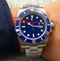 Wholesale Mechanical Watche - Luxury Top Quality Watch NOOB Factoyr V5 40mm 116610 116619 116610LN 116610LV Ceramic Bezel Asia 2813 Movement Automatic Mens Watch Watche