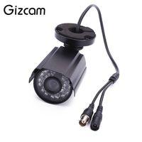 Wholesale ntsc cctv camera - Gizcam 720P HD Outdoor Wireless Security Cam Camera CCTV CMOS 3.6mm Lens IR Night Vision DVR NTSC PAL
