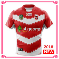 Wholesale George Shirts - ST GEORGE ILLAWARRA DRAGONS ALTERNATE 2018 2019 NRL National Rugby League nrl Jersey shirt s-3xl