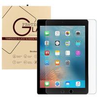 Wholesale Ipad Screen Protector Hd - For iPad Mini 2 3 4 air PRO 9.7inch Screen Protector Shatterproof Anti-Scratch HD Clear iPad Mini 2 3 iPad Air Tempered Glass