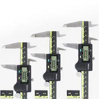 çelik vern kaliper toptan satış-ABS fonksiyonu dijital sürmeli kumpas mitutoyo paslanmaz çelik elektronik dijital kumpas 0-150 0-200 0-300 0.01mm