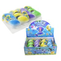 Wholesale best novelty toys for sale - Group buy Best Sellers Fun Shell Hatching Toys Expand In Water Marine Organism Novelty Toy Rainbow Shellfish Pectinid xk W