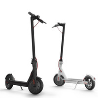 ingrosso scooter elettrici gratuiti-Nuovo M365 intelligente Scooter elettrico pieghevole leggero tavola lunga hoverboard skate 30KM chilometraggio con APP DHL FEDEX libera