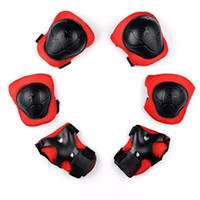 Wholesale kid elbow knee pads online - Kid Safety Protect Tools High End Knee Elbow Wrist Protective Guard Pad For Children Skating Skateboard Support Sports sg Y