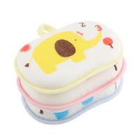 toalla de bebé esponja al por mayor-Bebé Ducha Infantil Cepillos para Baño Esponja Coon Rubbing Body Wash Cepillo infantil Cepillos de baño Baby Towel Accessories 2018