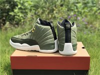 Wholesale cp3 shoes green resale online - 2018 Top Graduation Pack CP3 S Chris Paul Class Men Basketball Shoes Authentic Green Suede O Carbon Fiber Sneakers With Box