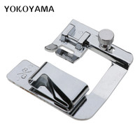 parts feet 2018 - YOKOYAMA Hemming Cloth Strip Presser Foot Sewing Parts #6290-4 6 8 Hemmer Foot Rolled Hem Universal Sewing Machine Parts