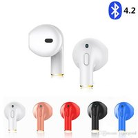 Wholesale 3d smart phones - Mini I8X Bluetooth V4.2 Earphone Sports Music Headset 3D Stereo Smart in-ear Headphone for IPhone 5 6 7S Samsung air xiaomi pods