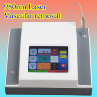 Wholesale cosmetics laser resale online - Newest popular Vascular Removal nm diode laser beauty cosmetics laser skin mole removal diode nm spide