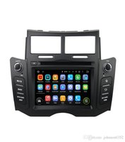 Wholesale toyota gps radio system - 6.2 inch Car DVD player For Toyota Yaris 2005 2006 2007 2008 2009 2010 2011 GPS navigation System Bluetooth Ipod TV Silver support 3g WIFI