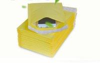 correio telefônico venda por atacado-5.1 * 6.6 polegadas 130 * 170 mm + 40 mm Kraft Bubble Mailers envelopes envoltório sacos acolchoados Envelope Mail Packing Pouch para Iphone X 8 7 S9 CASE Mobile Phone