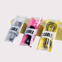 блистерная упаковка оптовых-DIY нестандартная конструкция блистерная ПВХ пластиковая розничная упаковка коробка пакет для iPhone USB кабель зарядное устройство линия ясно коробка