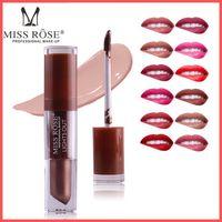 Wholesale light purple lipstick for sale - Factory Direct DHL Free Miss Rose Liquid Lipstick Waterproof Long Lasting Lips Makeup Lipstick Matte Easy to Wear Nutritious
