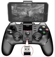 android için usb gamepad toptan satış-iPega PG-9076 PlayStation3 PS3 Denetleyicisi için Bluetooth Gamepad için Tutucu ile Android için USB Alıcısı / Windows Smartphone Tablet PC PG 9076