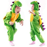 Wholesale costume for boys animals online - Umorden Boy Girl Cute Cartoon Animal Dinosaur Costume Cosplay Clothing for Kids Children s Day Costumes MMA915