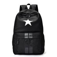 Wholesale Black Portfolio - New Casual Women men Laptop Backpack Waterproof Nylon Women's Youth Printing Schoolbag bagpack portfolio school for teenagers