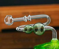 queimador de óleo de vidro dobrado tubo venda por atacado-Gourd vidro bent pote Atacado Bongos de Vidro, Queimador de Óleo, Tubos de Água de vidro, Plataformas de Petróleo Para Fumar Plataformas
