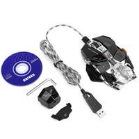 portátil para juegos gratis al por mayor-ZERODATE X600 Universal Gaming Mouse Max 2500 ppp USB con cable luces ópticas Ratones de juego Ratón para Pro Gamer Laptop Envío gratis Nuevo