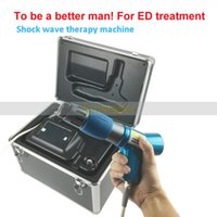 Wholesale shock spot - ED treat Physical Pain Therapy System Acoustic Shock Wave Therapy Equipment Extracorporeal Shockwave Machine For Spot Injury Treatment