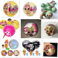 Wholesale sister girls - wholesale The seller all Series1-3 glitter, pet Confetti Pop, Lil Sister Limited edition doll New Dolls Girls' Egg Toys detachable kid toy.