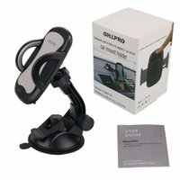 Wholesale rotating universal car windshield mount for sale - Car Phone Mount Cell Phone Holder Car Dash Windshield Dashboard Universal Adjustable Rotating for iPhone Samsung