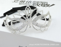 Wholesale metal lace mask for sale - Group buy Lace Mask Sexy Half Face Party Masquerade Girl Headdress Cosplay Mask Sexy Carnival