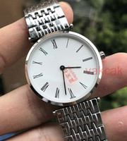 Wholesale japan water resistant watch - AAA Sapphire Japan Quartz New Luxury mens Watch Stainless Steel White dial Silver Case Mechanical Automatic Watches original clasp watch men