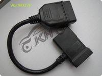 adaptador nissan obdii al por mayor-Original para LANZAMIENTO X431 IV 4 Cuarto para adaptador NISSAN -14 + 16 pin OBDII para adaptador NISSAN-14 + 16 conector OBD2 conector OBD