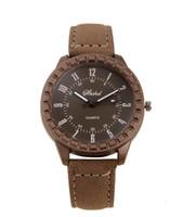 relógios antigos venda por atacado-Relógio de quartzo moda pessoas moer arenoso restaurar antigas formas homens e mulheres amantes estudantes assistir cinta para o mais recente tipo