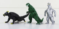 juegos de juguetes godzilla al por mayor-Colección Action Toy 10pcs / Set Movie Godzilla Figura de acción Toy Collection Toy 8cm Envío gratis Acción al por menor
