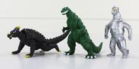 film perakende toptan satış-Koleksiyon Eylem Oyuncak 10 adet / takım Film Godzilla Action Figure Oyuncak Koleksiyon Oyuncak 8 cm Ücretsiz Kargo Perakende Eylem